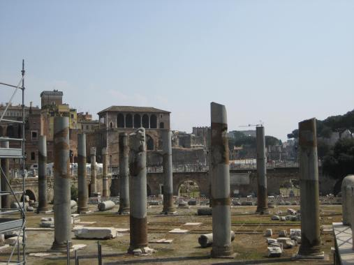 Much of the Roman Forum has been left open to the elements, and outside of a few facades, much of it has been lost to history.