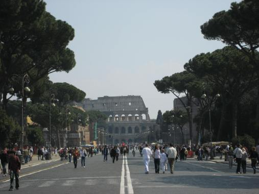 The Coliseum is one of the most recognizable landmarks of Ancient Rome.